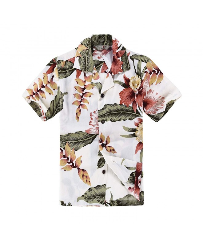 Hawaiian Shirt Cabana Black Rafelsia