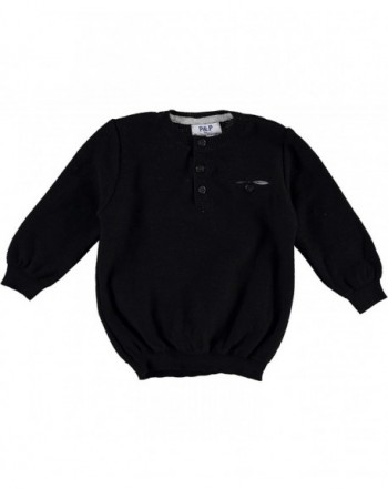 Piccino Piccina Black Pullover Sweater