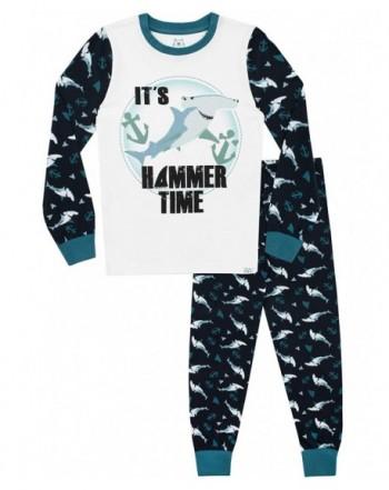 Harry Bear Boys Shark Pajamas