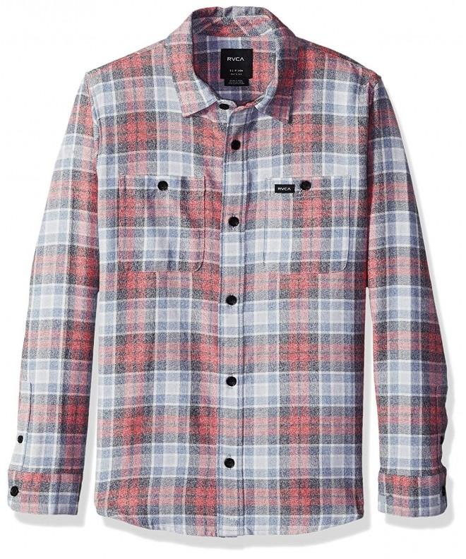 RVCA Diffusion Sleeve Woven Shirt