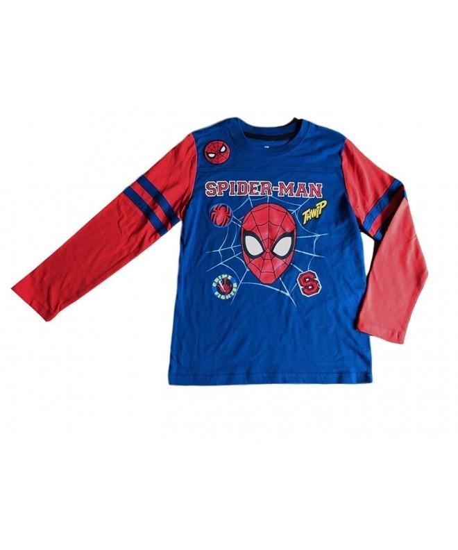 Spiderman Sleeve Little Character Marvel