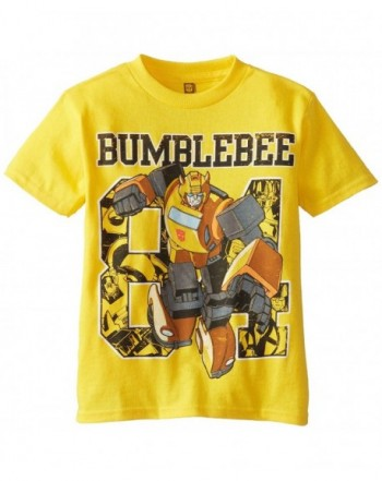 Transformers Boys Short Sleeve T Shirt