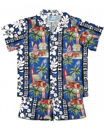 Island Village Hawaiian Cabana Shirt