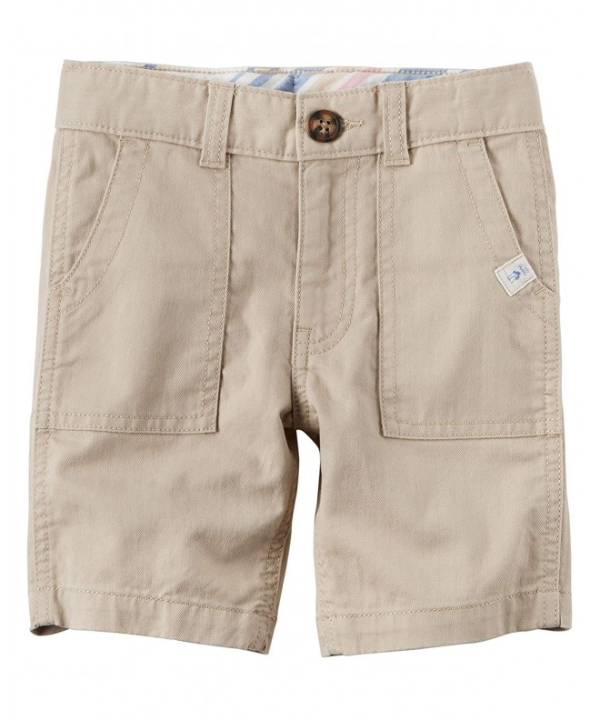 Carters Little Herringbone Shorts Toddler