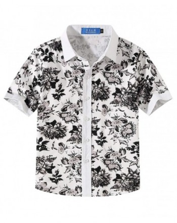 SSLR Floral Casual Button Hawaiian