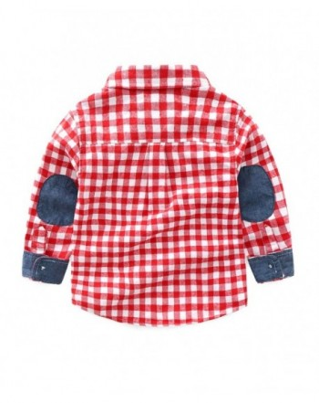 Fashion Boys' Button-Down Shirts On Sale