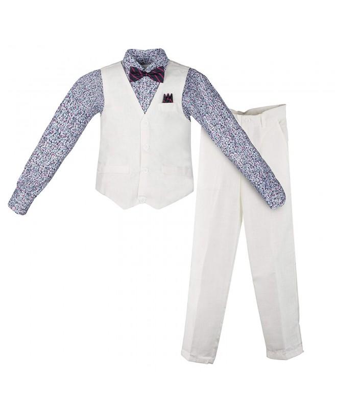 Vittorino Linen Piece Pants Shirt