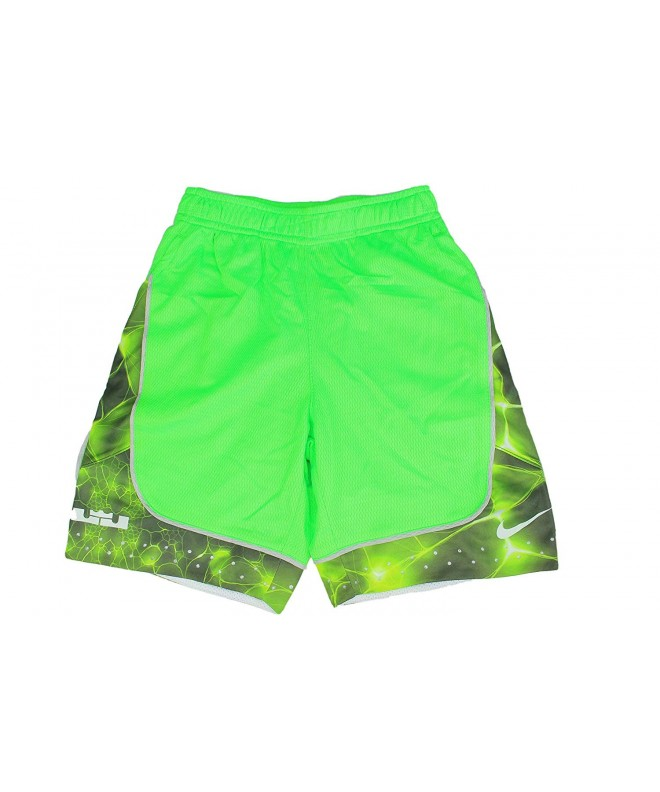 Lebron Dri Fit Shorts Green Strike