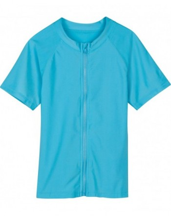 SwimZip Little Sleeve Rashguard Zipper