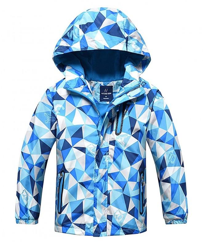 HuTuHu Fleece Windbreaker Waterproof Outerwear