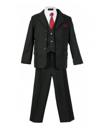 Boys Pinstripe Suit Matching 2T 20