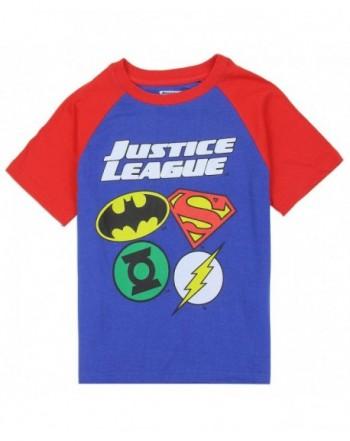 Justice League Little Logos Raglan