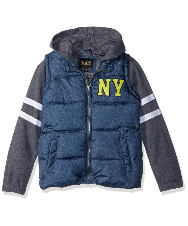 iXtreme Boys Puffer Vest Sleeve