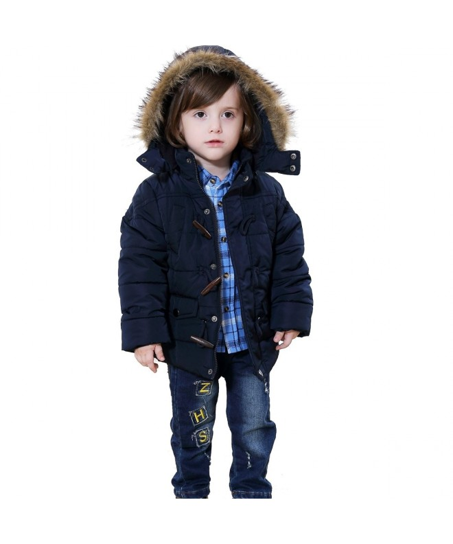 Bebone Boys Hooded Puffer Duffle