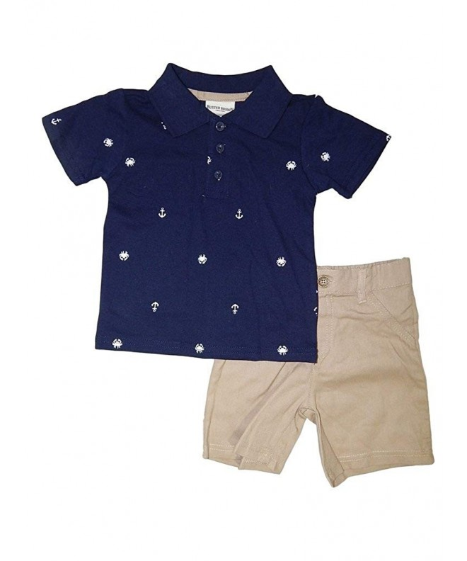 Buster Brown Anchor 2 Piece Outfit