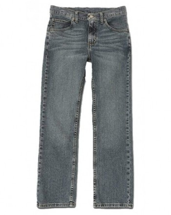 Wrangler Boys Slim Straight Jeans