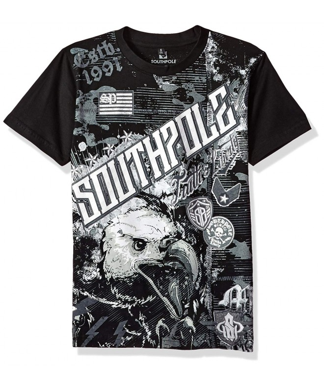 Southpole Short Sleeve Print Graphic