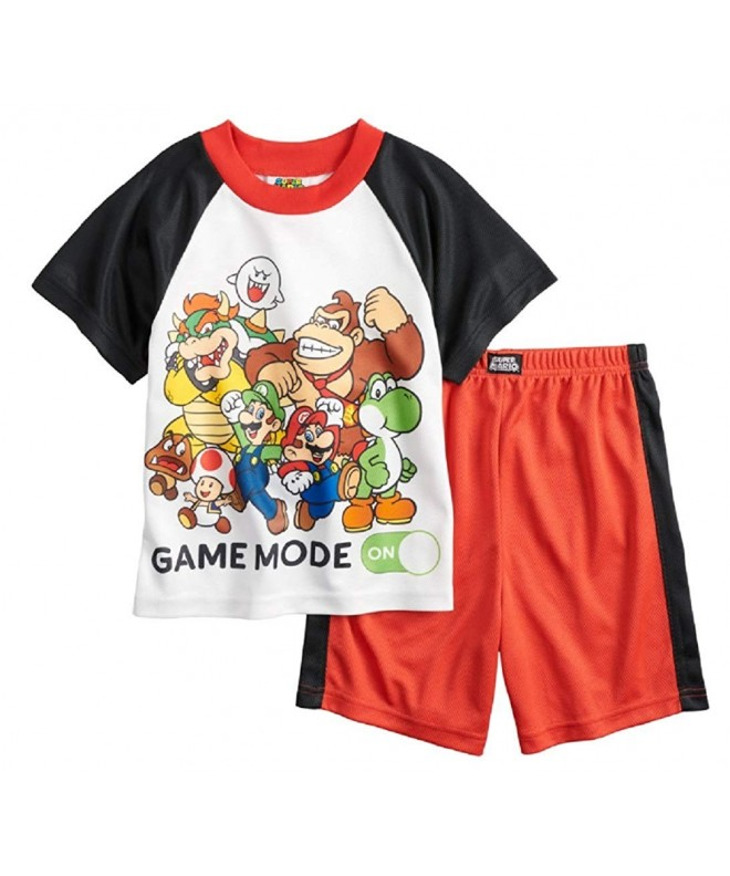 Boys Super Mario 2 Piece Pajama