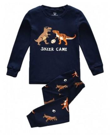 Dinosaur Little sleeve Pajama Cotton