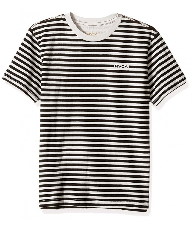 RVCA House Stripe Sleeve T Shirt