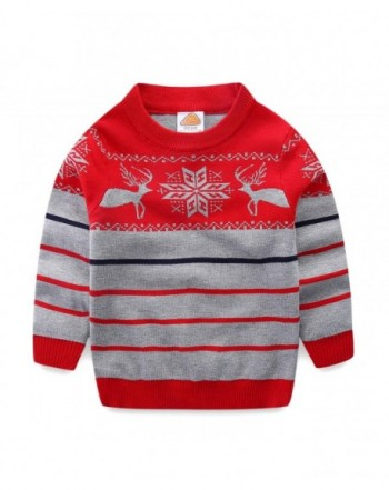 Mud Kingdom Sweaters Christmas Reindeer
