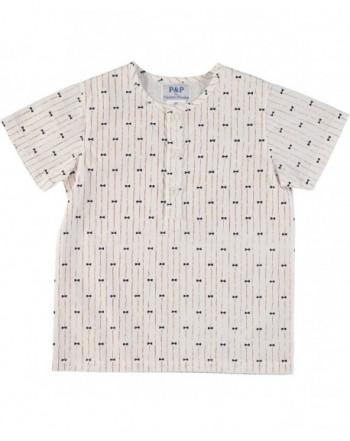 Piccino Piccina Mustard Stripe Shirt