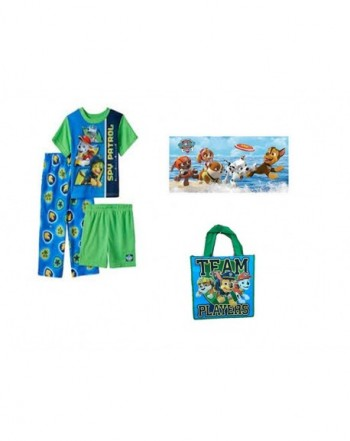 Nickelodeon Patrol 3 Piece Pajamas Towel