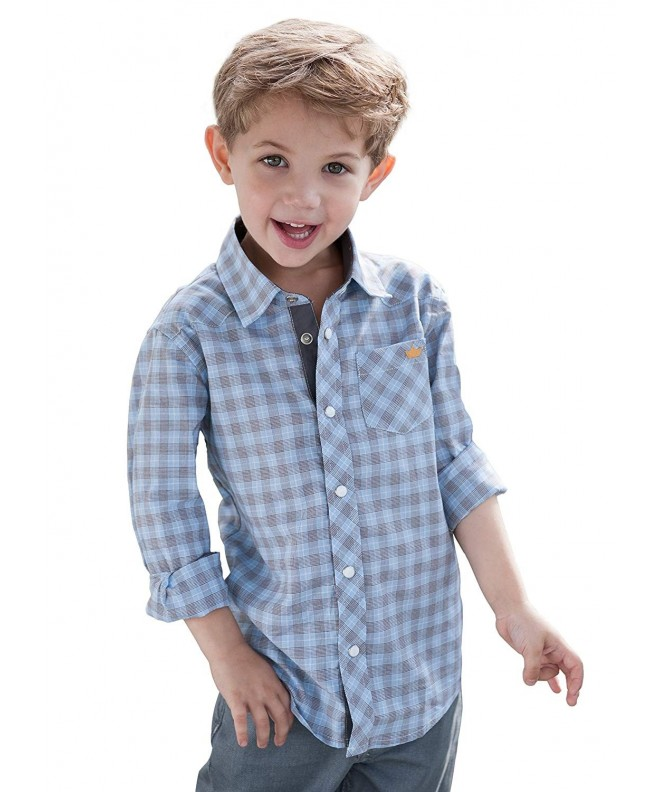 Dakomoda Toddler Cotton Check Western