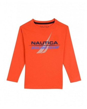 Nautica Boys Sleeve Graphic T Shirt