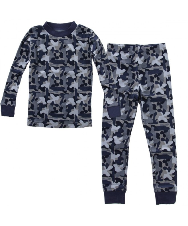 PLove Two Piece Organic Pajamas Toddler