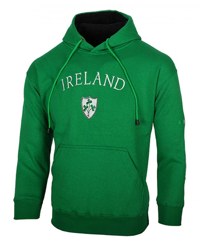 Ireland Shamrock Crest Hooded Sweatshirt