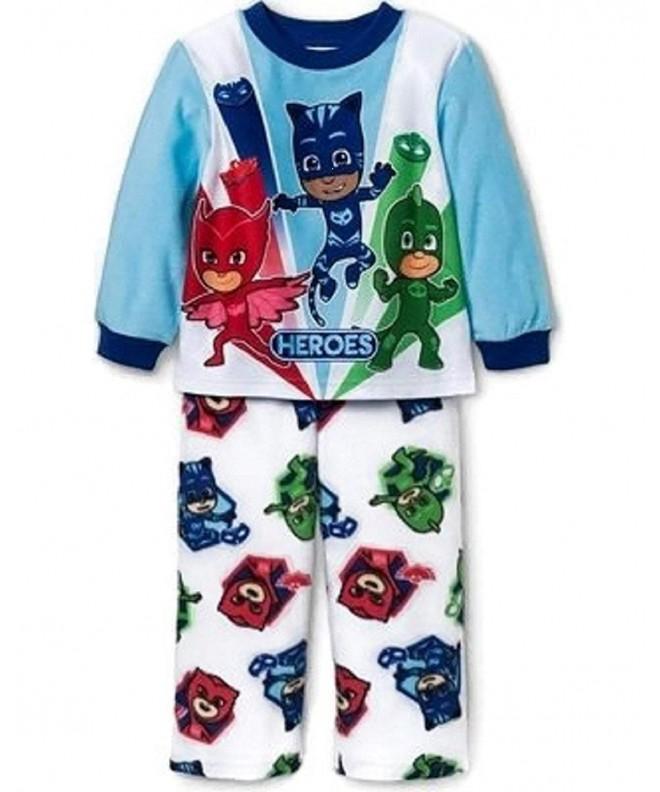 Masks Toddler Boys Pajama Set