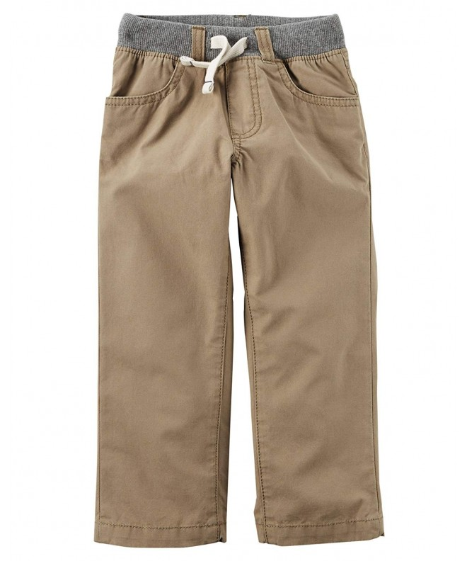 Carters Boys Utility Pants Khaki