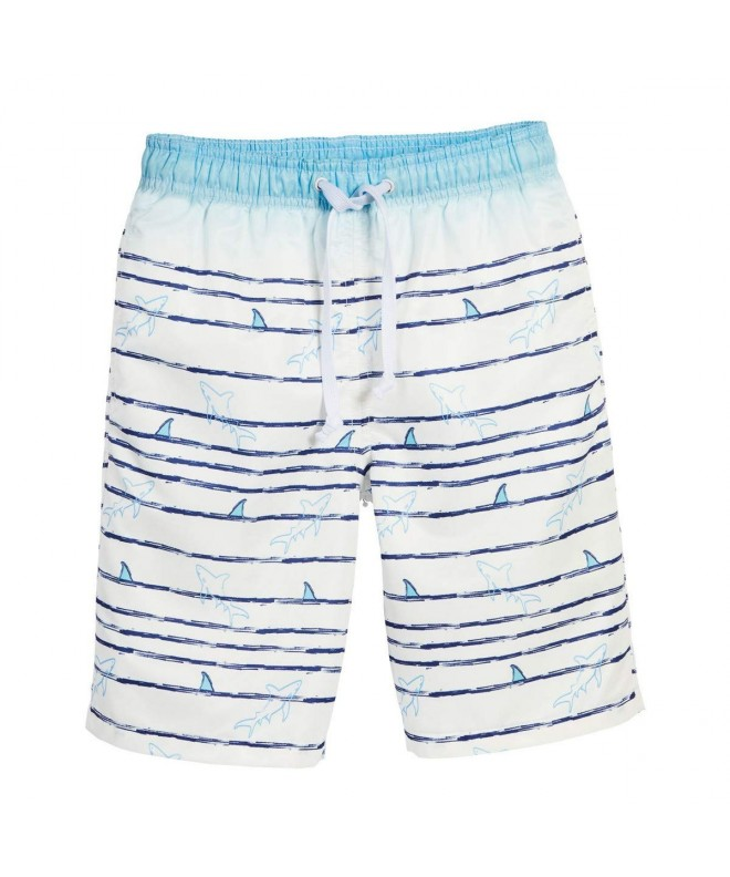 Beachcombers Swimwear Polyester Shark Shorts