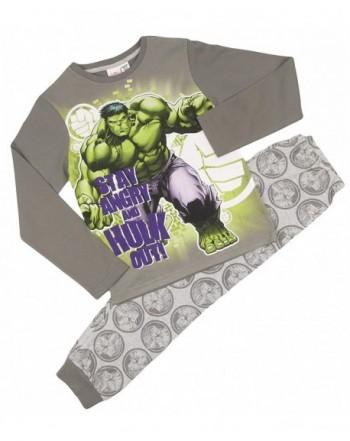 Childrens Character Pyjamas Sleeved Cuffed