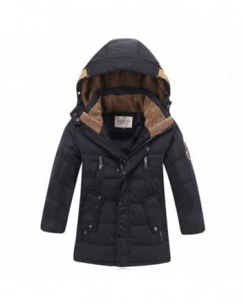 YOTONG Winter Fleece Hooded Jacket