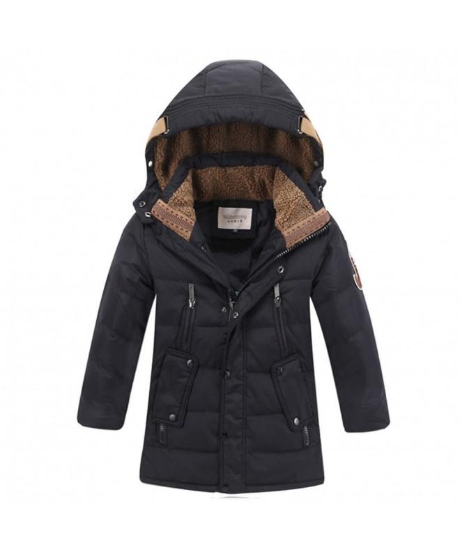 YOTONG Winter Fleece Hooded Jacket