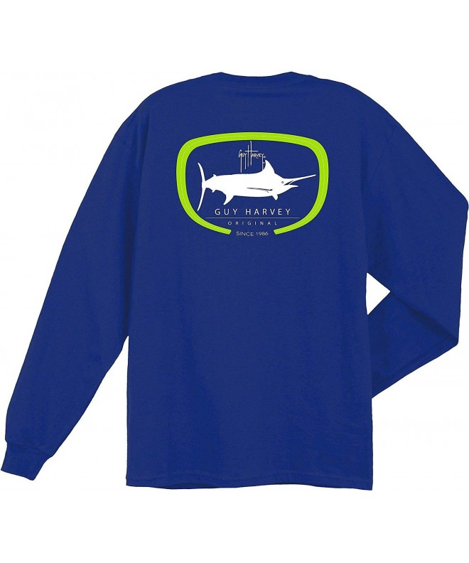 Guy Harvey Sleeve Heather T Shirt
