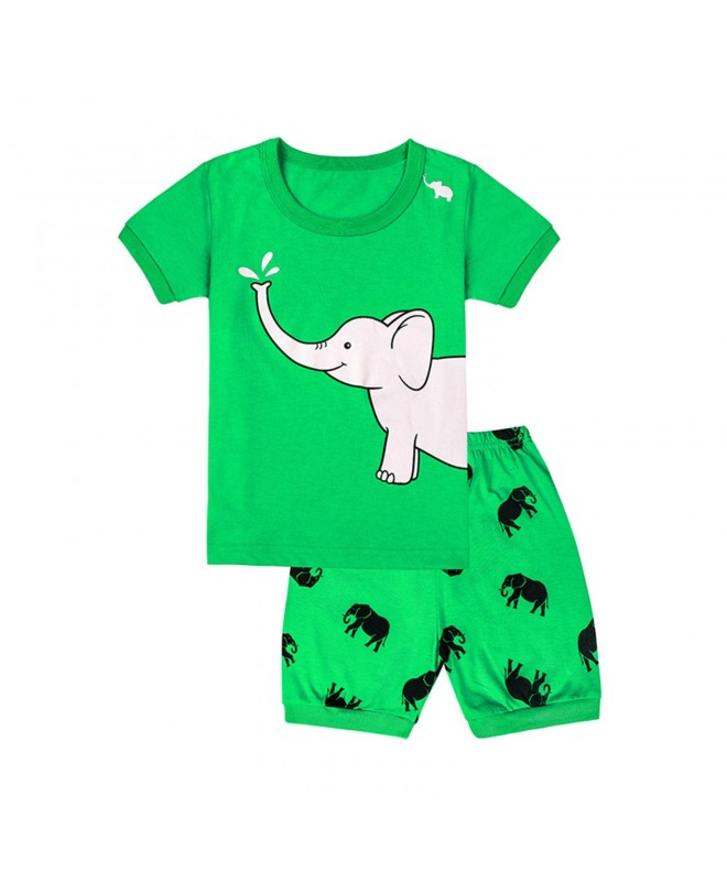 Qtake Fashion Elephant Children Sleepwear