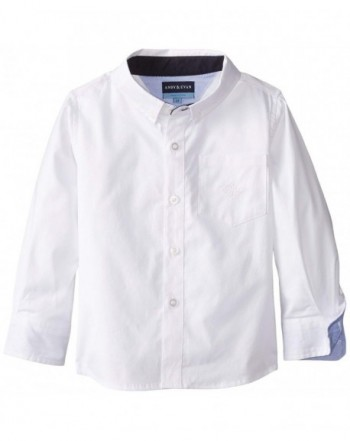 Andy Evan Little White Oxford