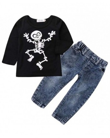 Toddler Girls Halloween Outfits T Shirt