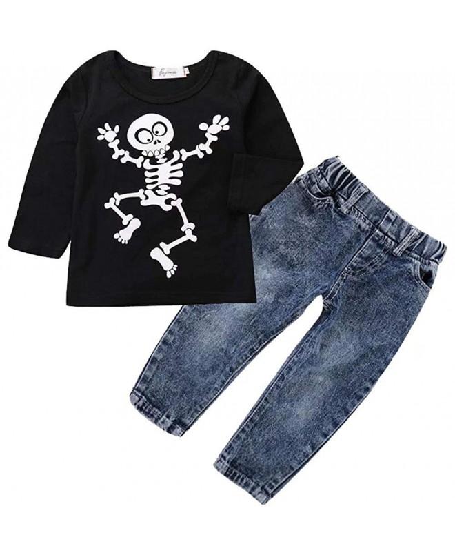 Toddler Girls Halloween Outfits T Shirt