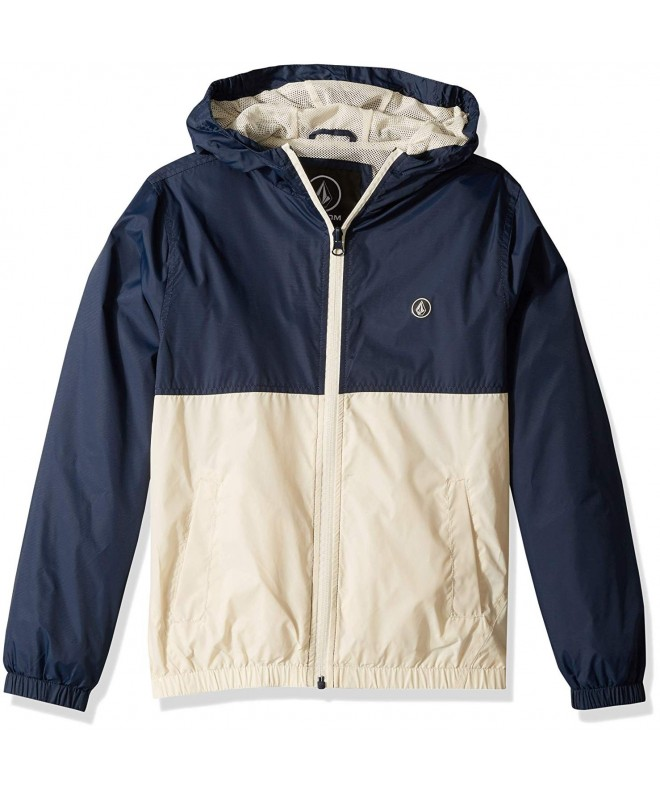 Volcom Ermont Hooded Windbreaker Jacket