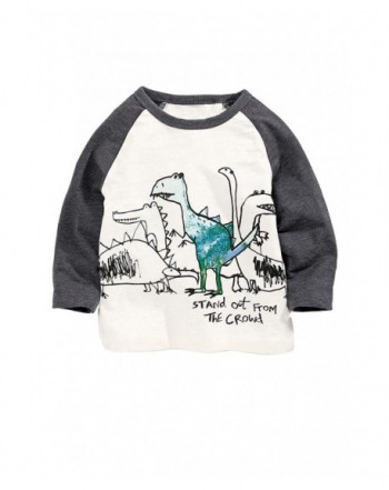 HUAER T Shirt Toddler Cartoon Dinosaur