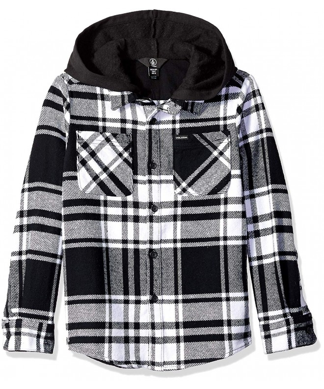 Volcom Shader Hooded Sleeve Flannel