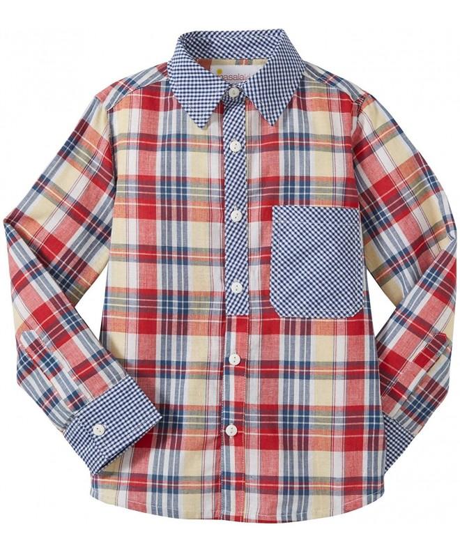 Masala Little Shirt Check Toddler