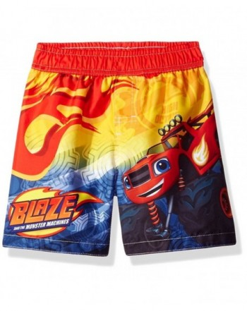 Monster Machines Trunks Swimwear Yellow