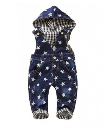 Kidscool Little Cardigan Hooded Overalls