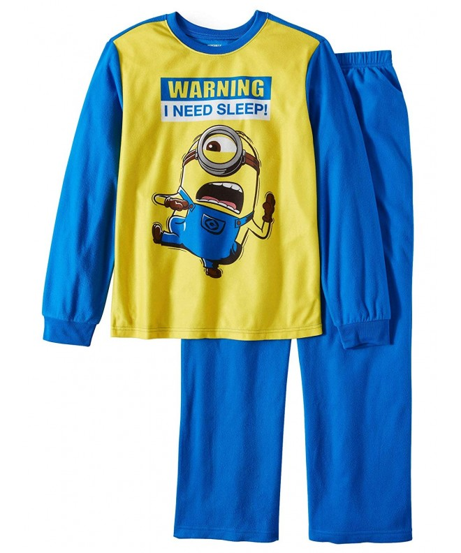 Despicable Me Minions Warning Brushed