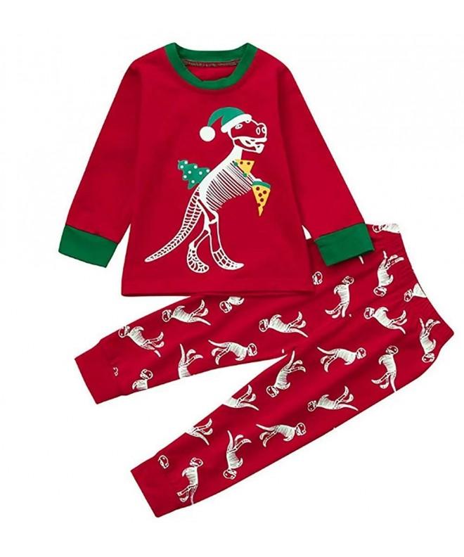 Toddler Cartoon Dinosaur Skeleton T Shirt